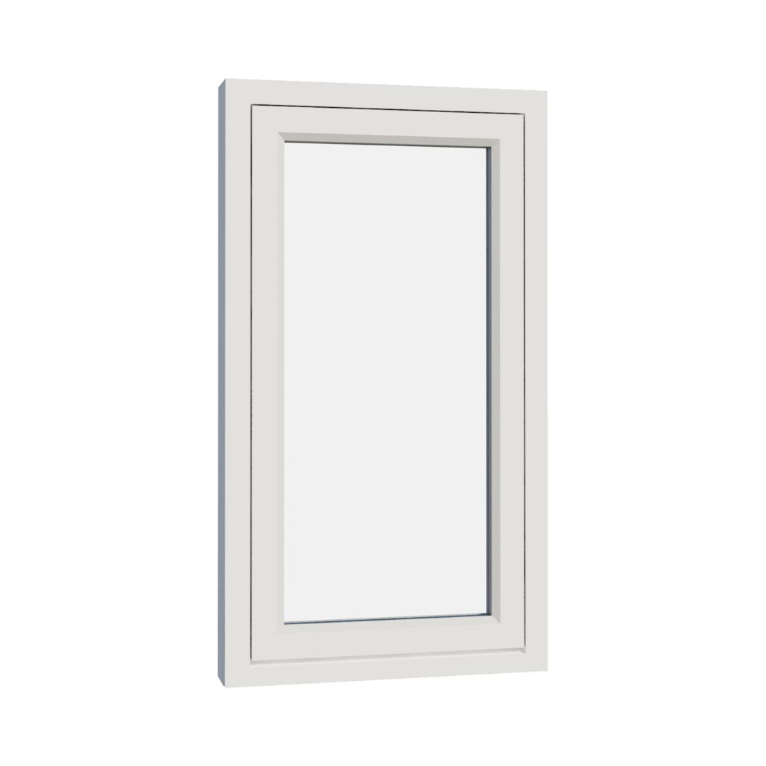 Vikeså vindu - Antikvariske vindu med kittfals - V100 serien / V100 utvendig