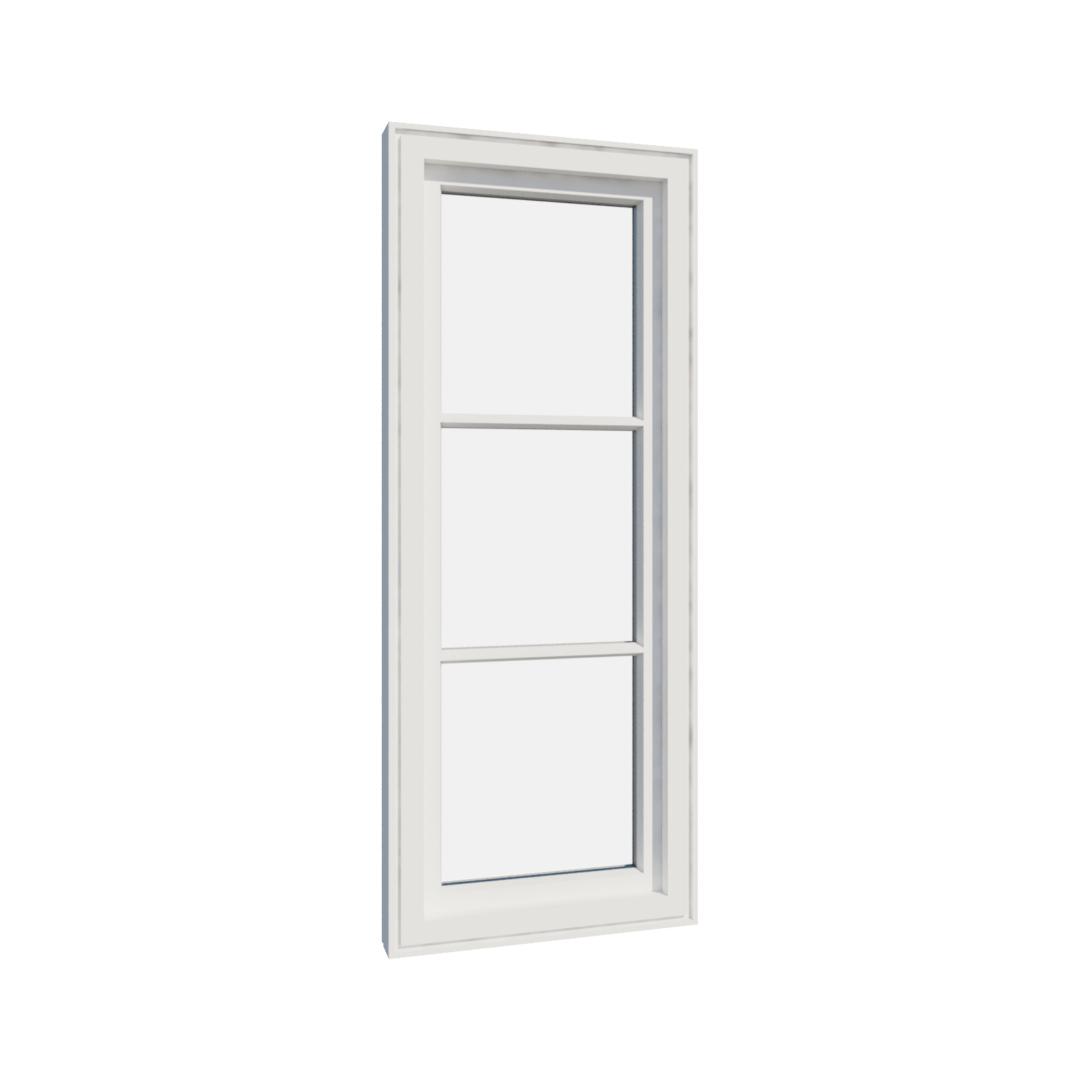 Vikeså vindu - Antikvariske vindu med kittfals - V100 serien / V103 innvendig