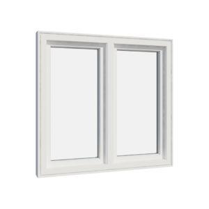 Vikeså vindu - Antikvariske vindu med kittfals - V200 serien / V200 innnvendig