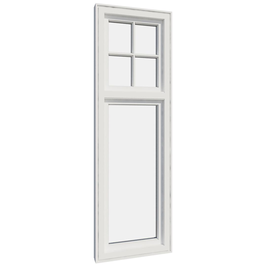 Vikeså vindu - Antikvariske vindu med kittfals - V200 serien / V205 innvendig