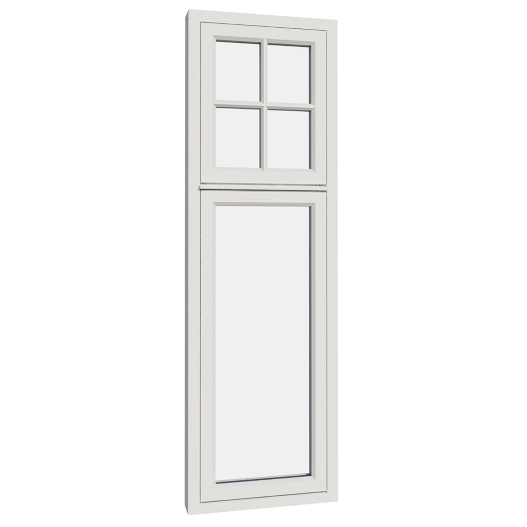 Vikeså vindu - Antikvariske vindu med kittfals - V200 serien / V205 utvendig