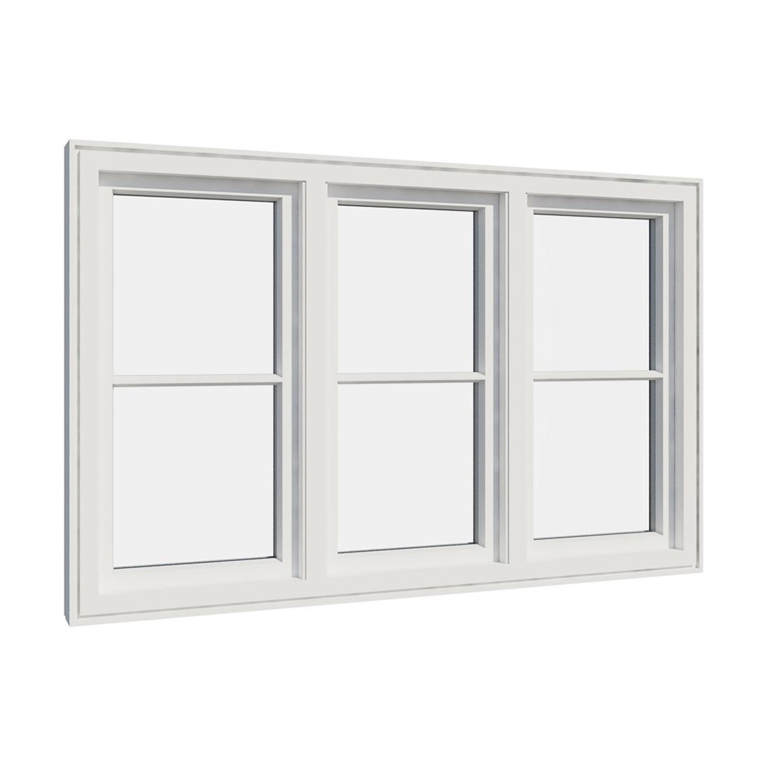 Vikeså vindu - Antikvariske vindu med kittfals - V300 serien / V306 innvendig