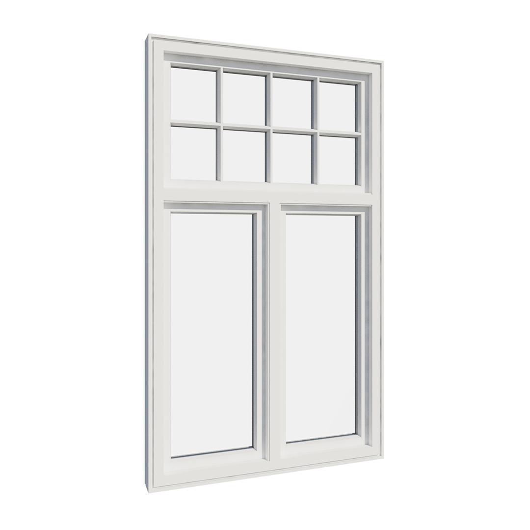 Vikeså vindu - Antikvariske vindu med kittfals - V300 serien / V310 innvendig