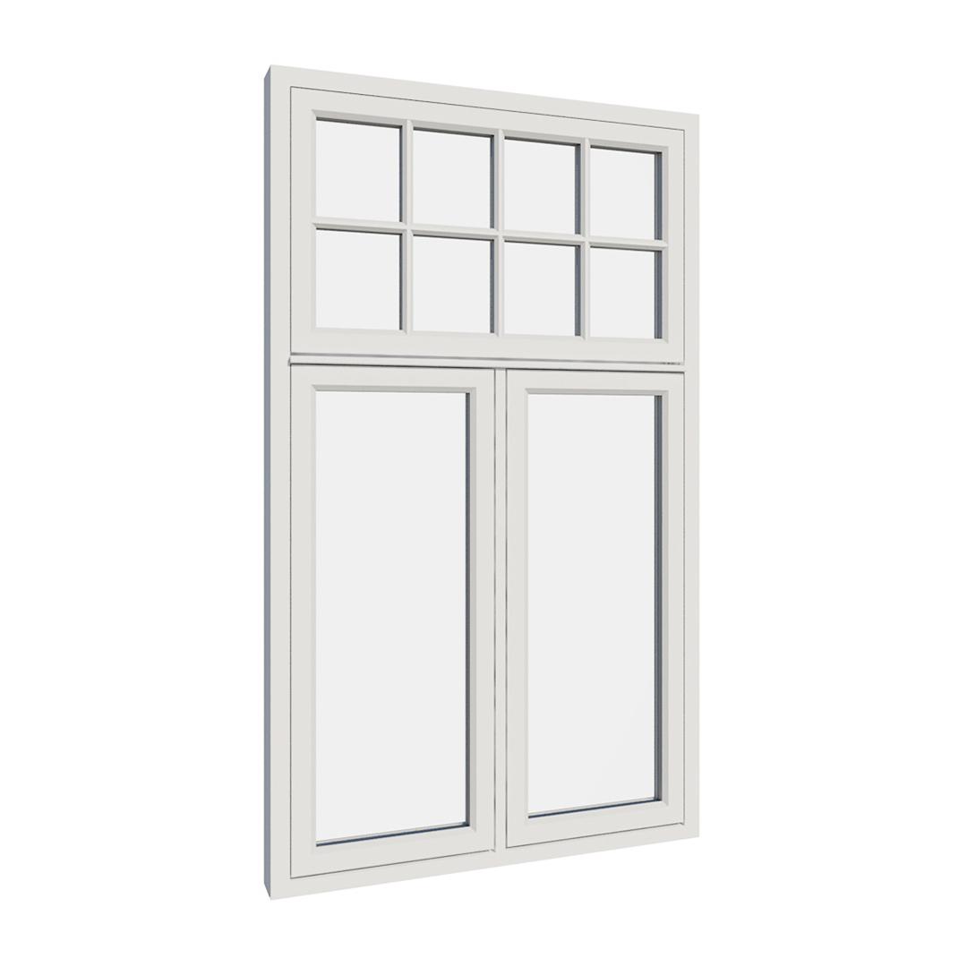 Vikeså vindu - Antikvariske vindu med kittfals - V300 serien / V315 utvendig