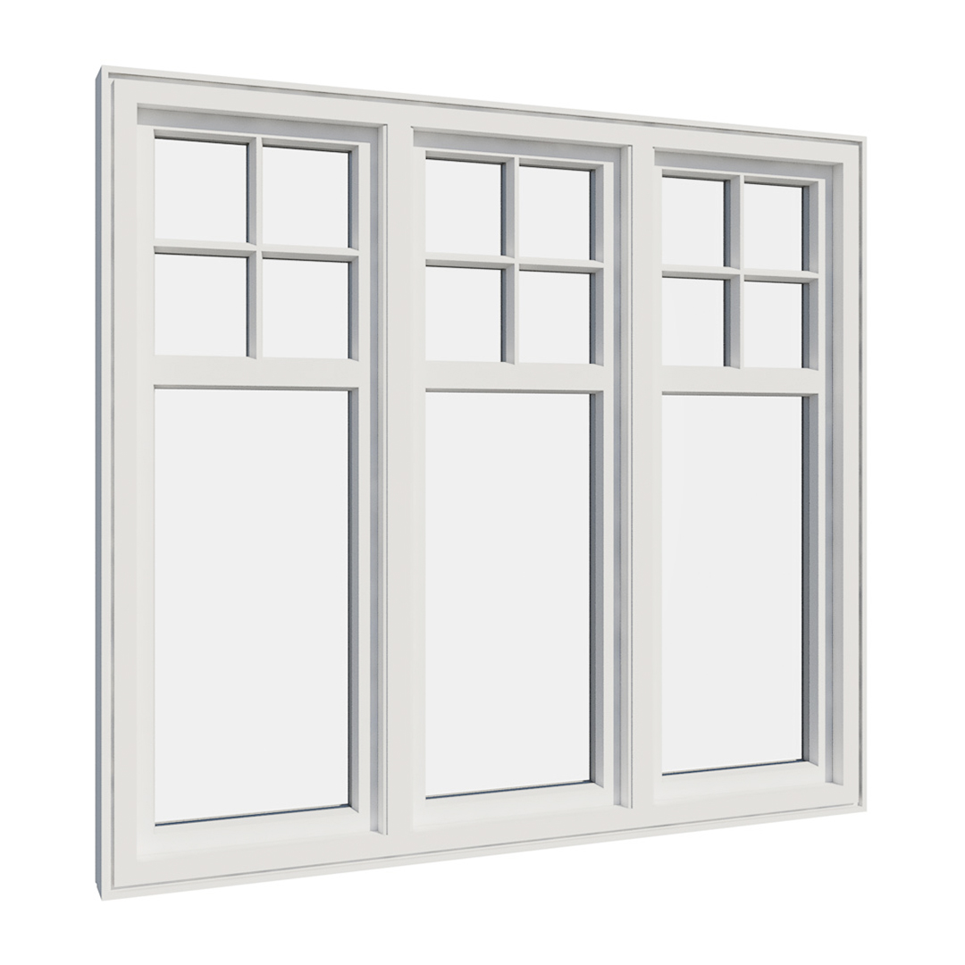 Vikeså vindu - Antikvariske vindu med kittfals - V300 serien / V315 innvendig