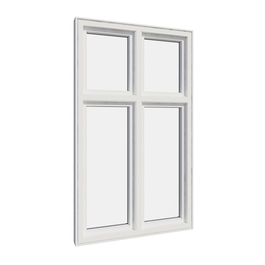 Vikeså vindu - Antikvariske vindu med kittfals - V400 serien / V400 innvendig