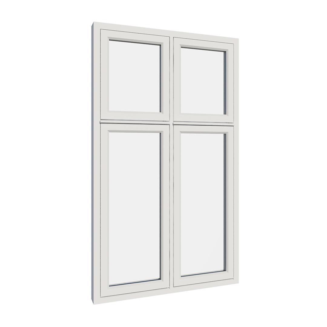 Vikeså vindu - Antikvariske vindu med kittfals - V400 serien / V400 utvendig