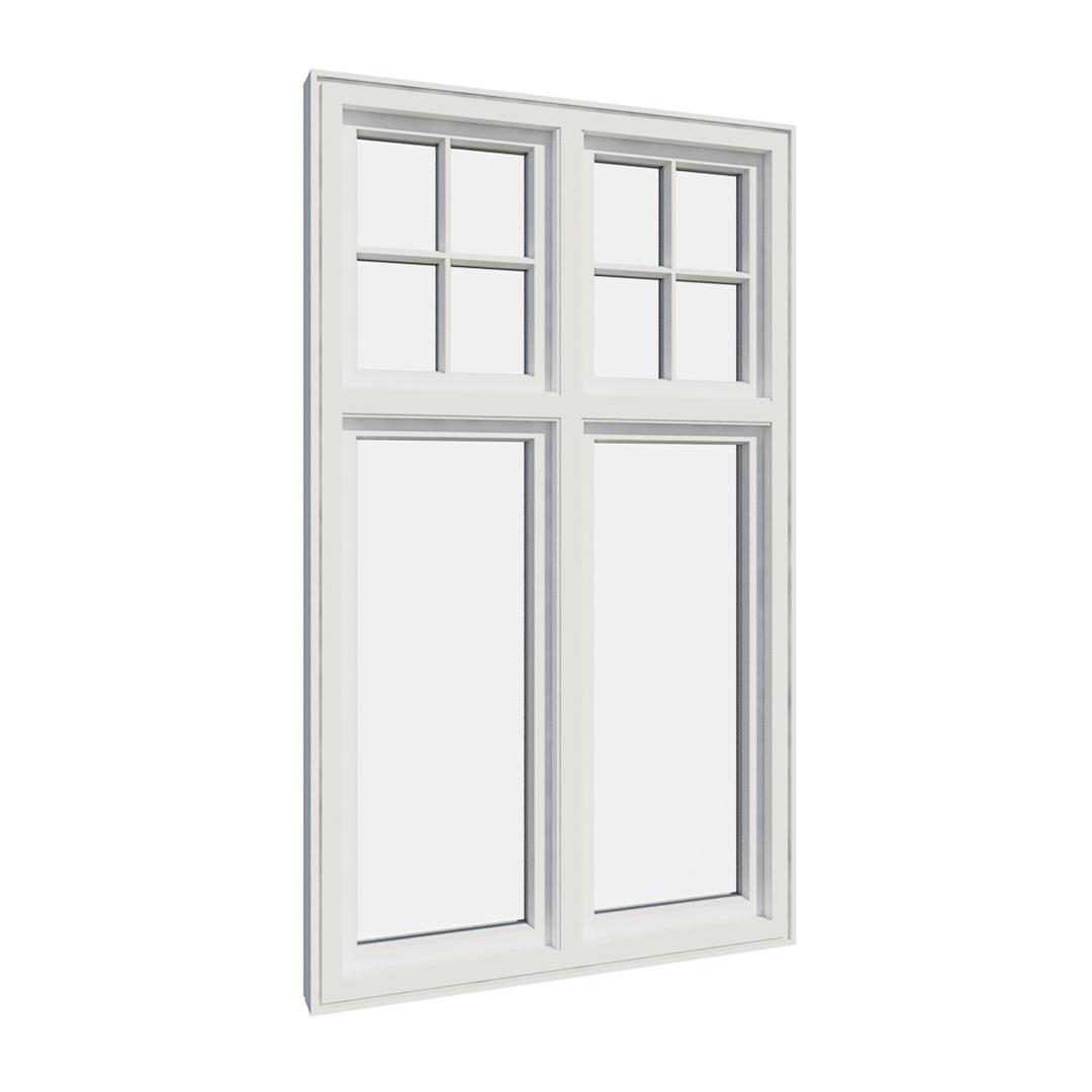 Vikeså vindu - Antikvariske vindu med kittfals - V400 serien / V410 innvendig