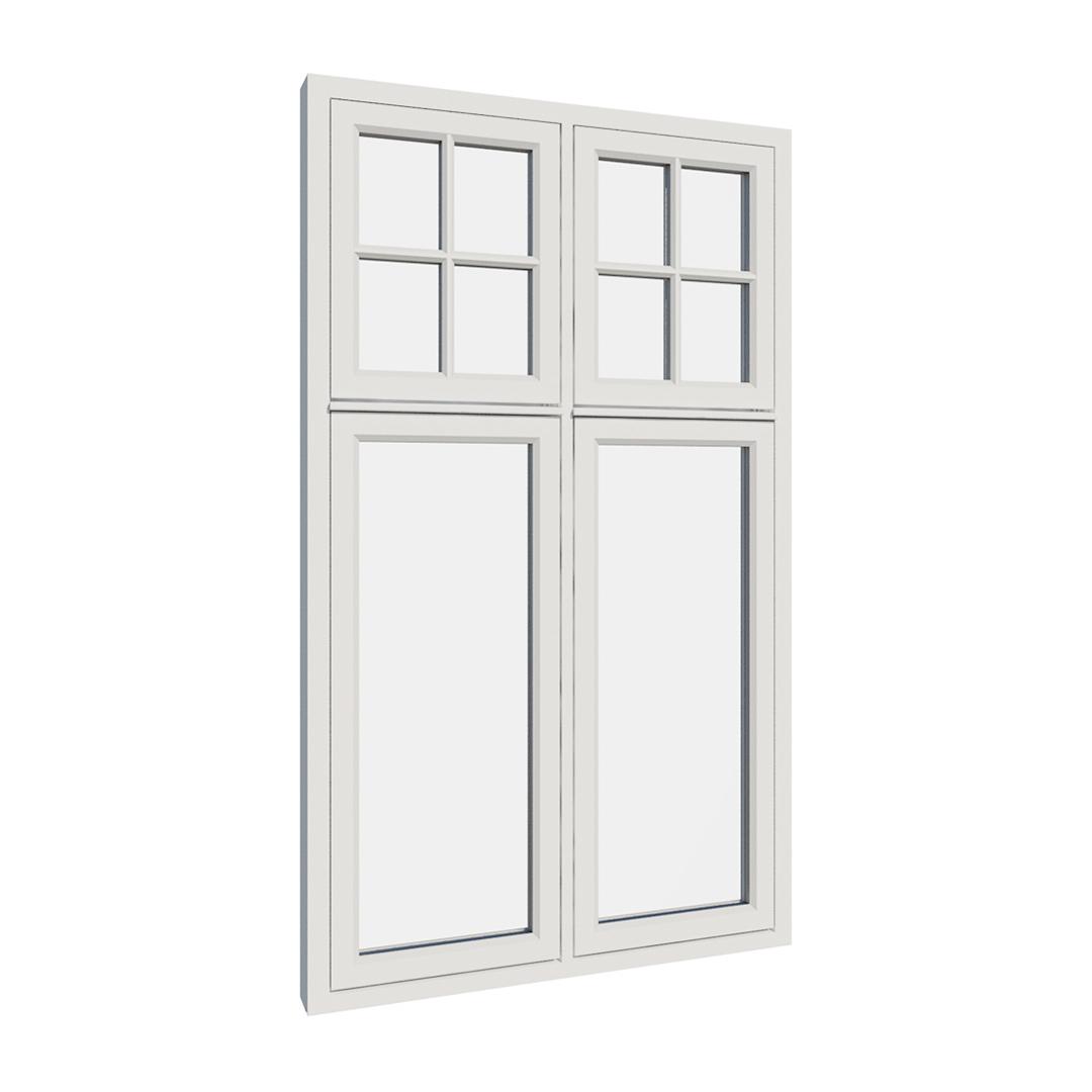 Vikeså vindu - Antikvariske vindu med kittfals - V400 serien / V410 utvendig