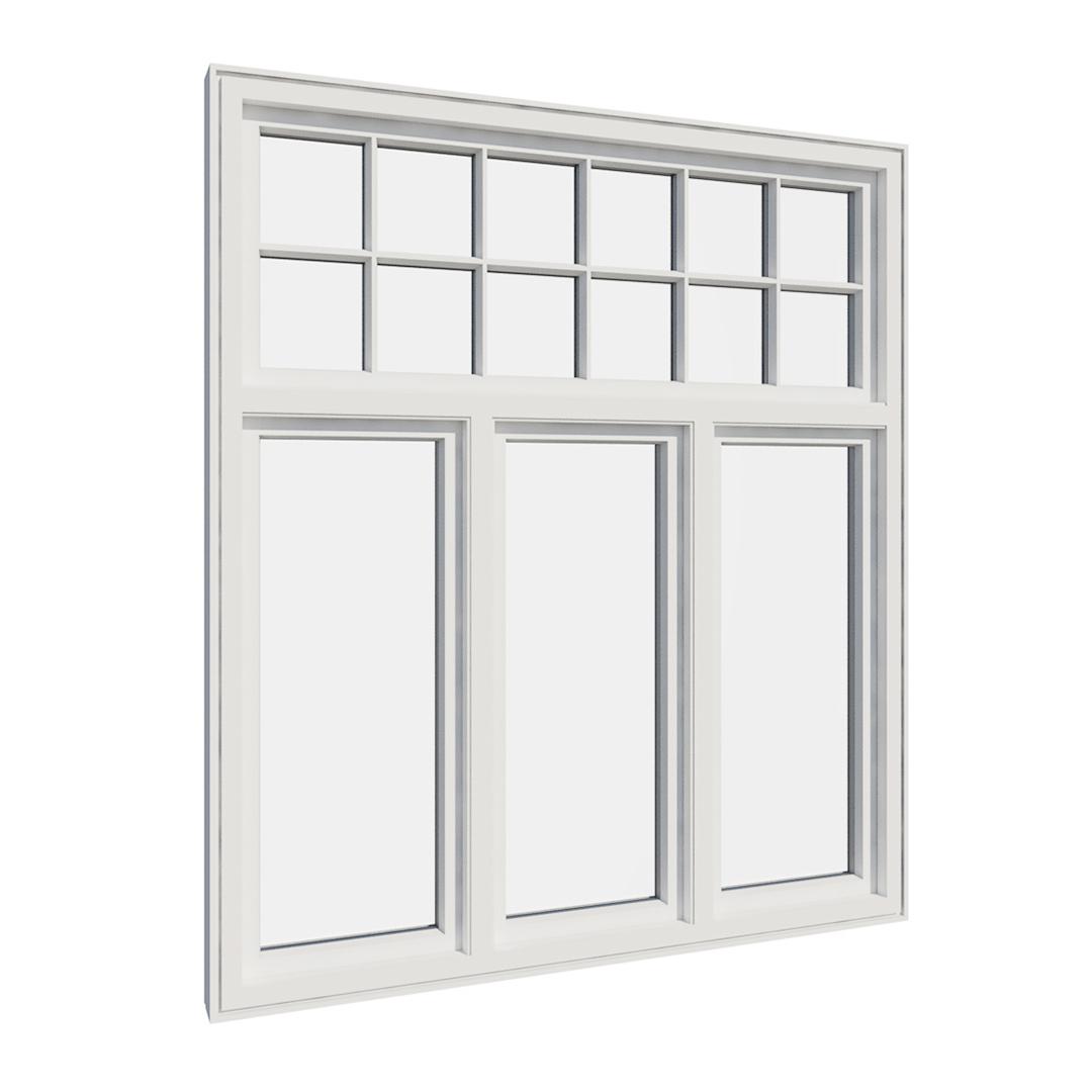 Vikeså vindu - Antikvariske vindu med kittfals - V400 serien / V415 innvendig