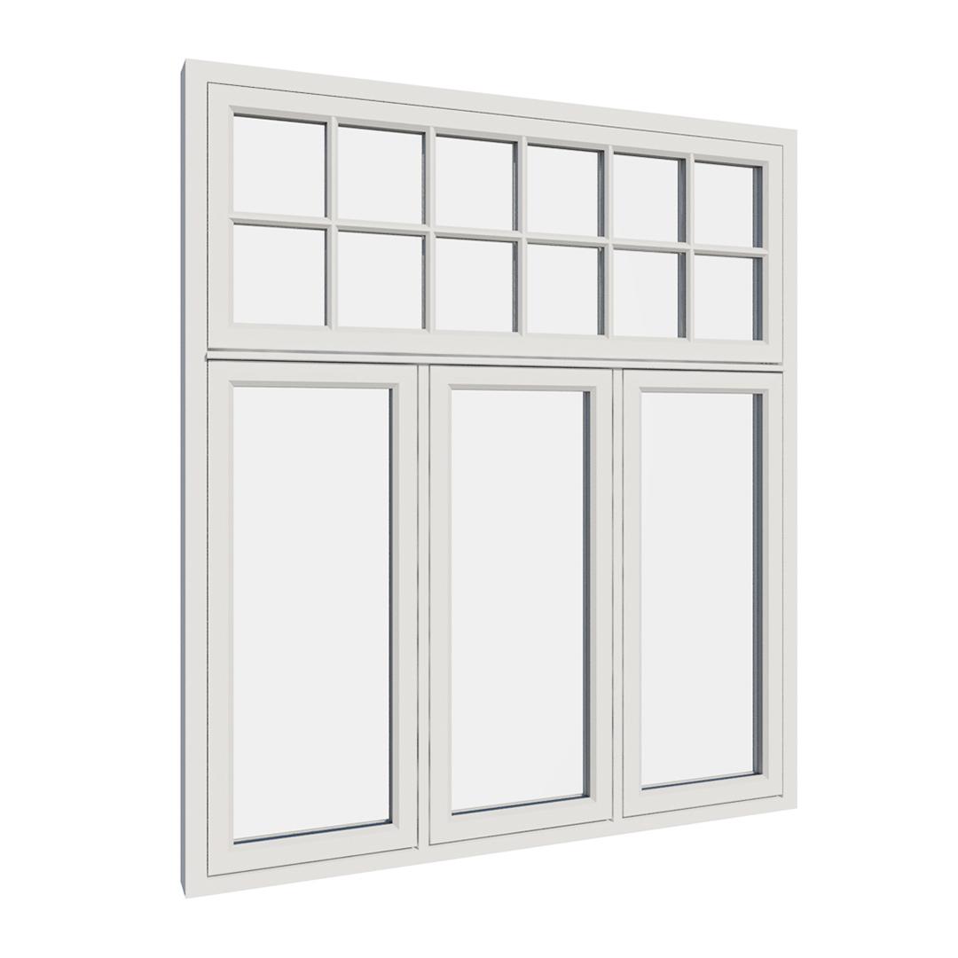 Vikeså vindu - Antikvariske vindu med kittfals - V400 serien / V415 utvendig