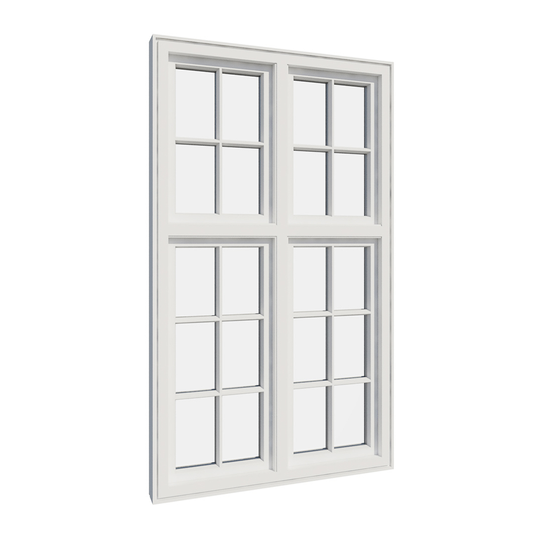 Vikeså vindu - Antikvariske vindu med kittfals - V400 serien / V420 innvendig