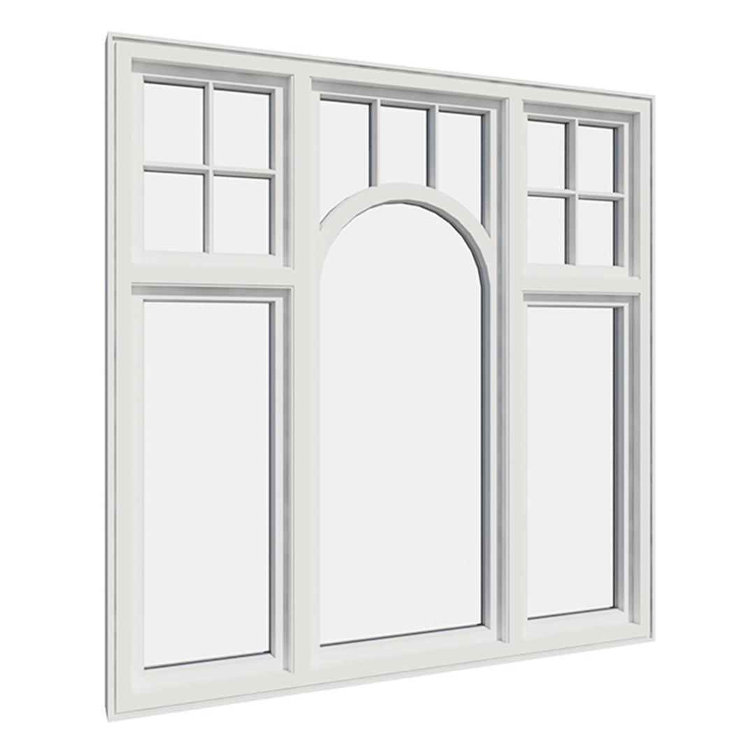 Vikeså vindu - Antikvariske vindu med kittfals - V500 serien / V514 innvendig