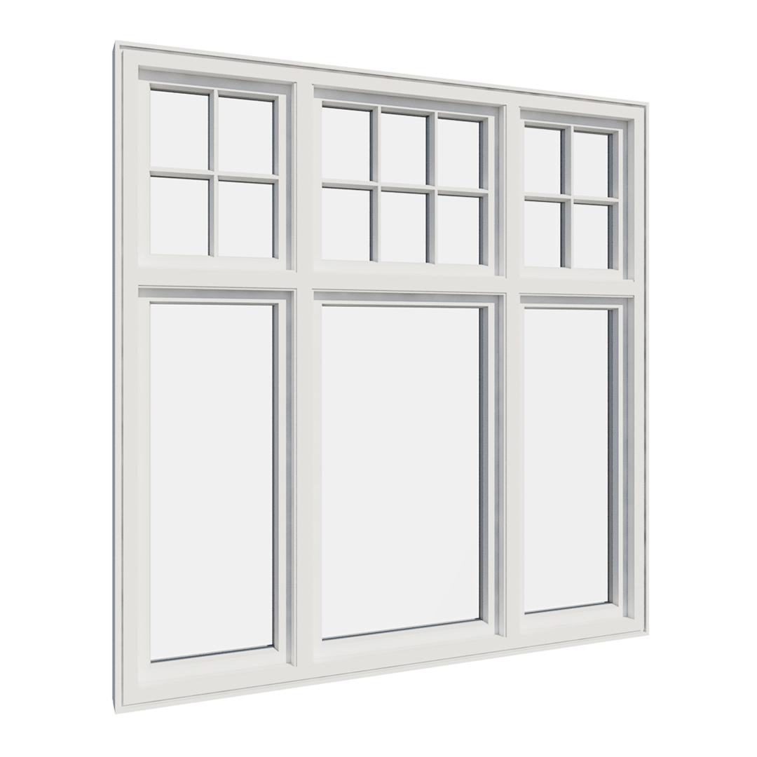 Vikeså vindu - Antikvariske vindu med kittfals - V600 serien / V617 innvendig