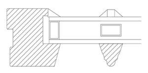 Vikeså Vindu - Sprosser - Standard ramme- og Bjerkreim sprosseprofil