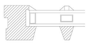Vikeså Vindu - Sprosser - Standard ramme og sprosseprofil