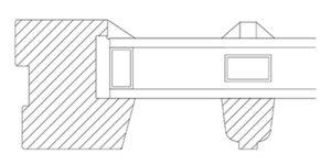 Vikeså Vindu - Sprosser - Standard ramme og Vikeså sprosseprofil