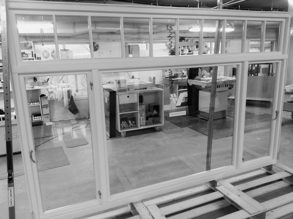 Vikesaa Vindu - Tilpasset bred vindusramme