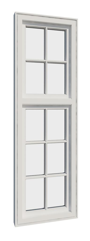 Vikeså vindu - Antikvariske vindu med kittfals - V200 serien / V210 L inntside